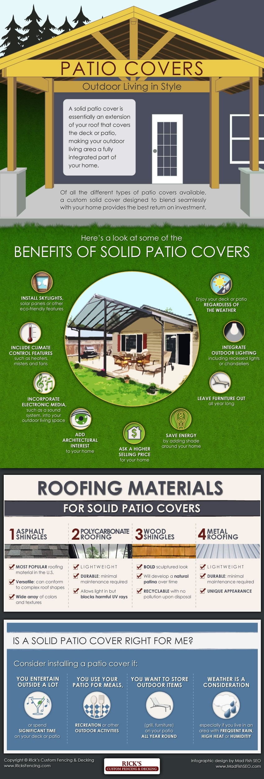 Solid Patio Covers - Outdoor Living in Style