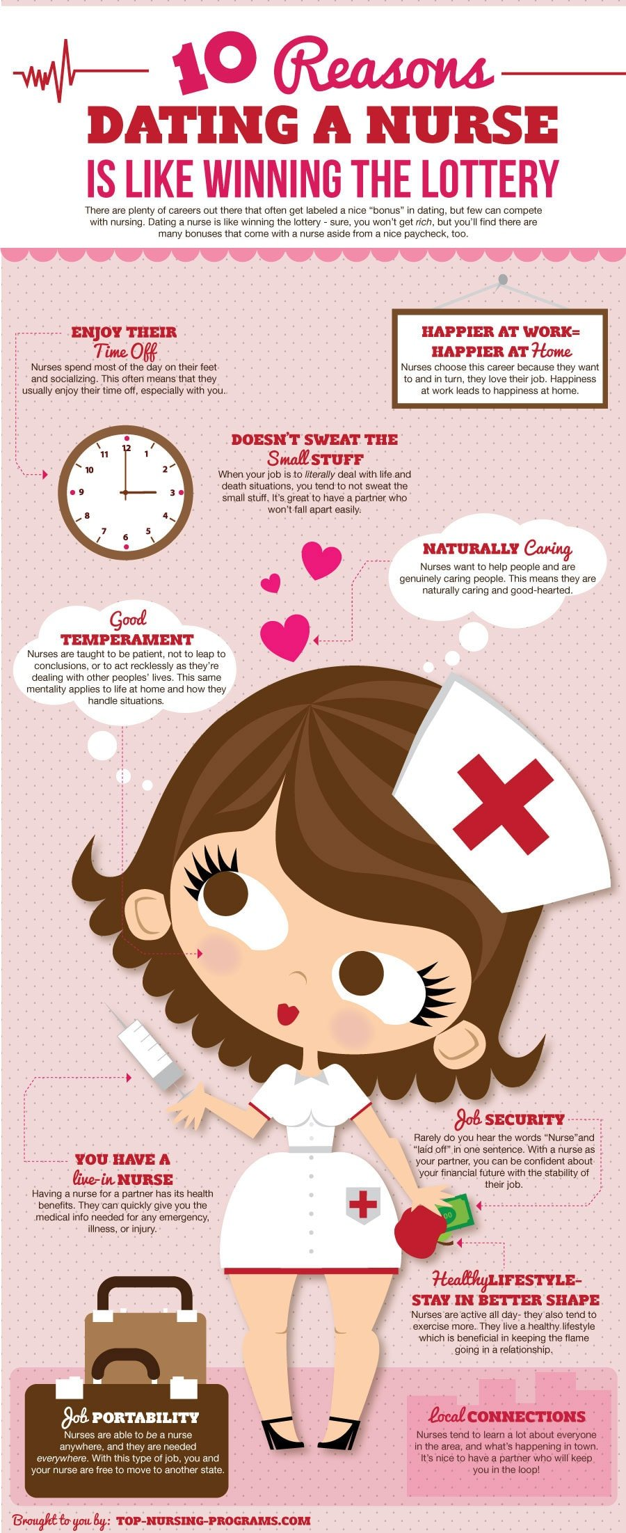 The Many Benefits of Dating a Nurse (Infographic)