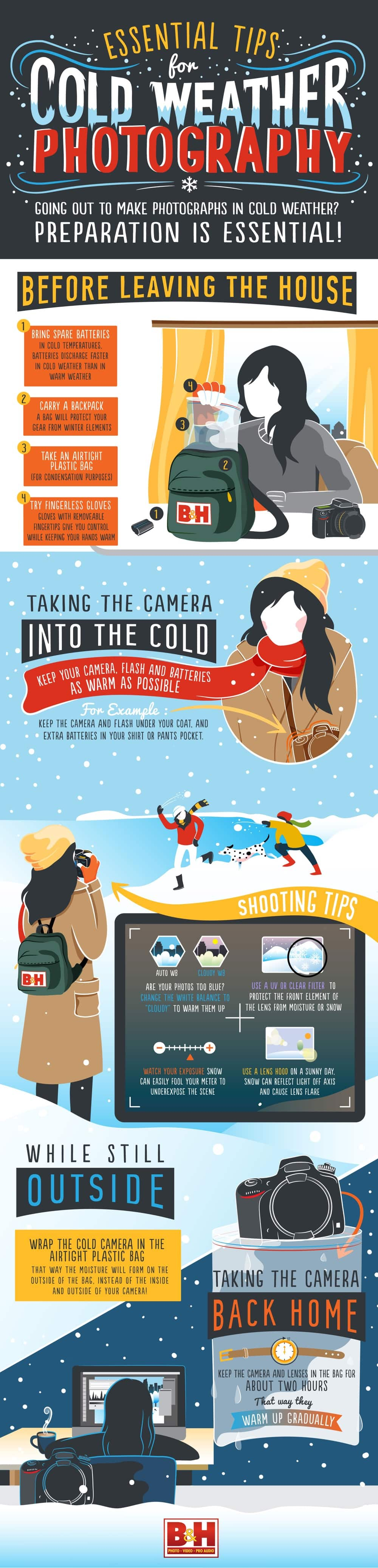 Cold Weather Photography - Tips for Shooting Photos in Cold Weather