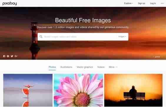 Pixabay - Free Stock Photo Websites #1