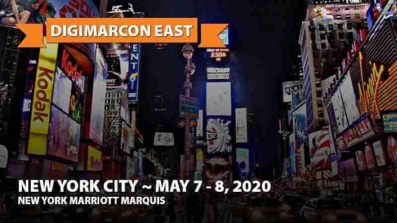 Digital Marketing Events - Digimarcon East 2020