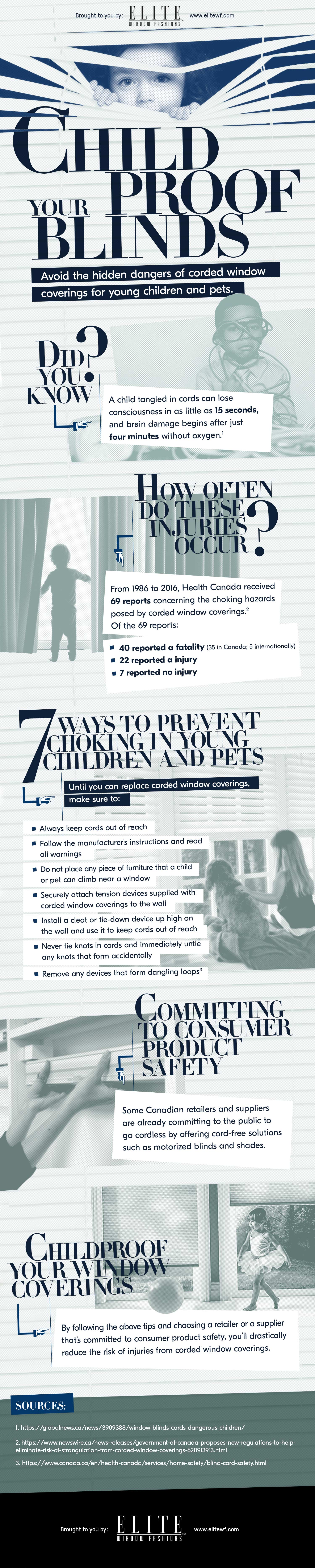 Child Safe Blinds: How To Childproof Your Blinds (Infographic)