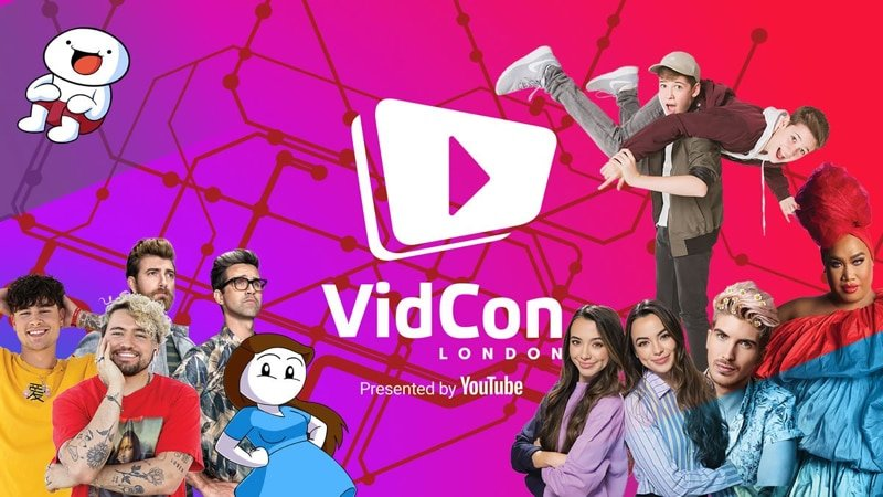 VidCon London   Februari 20 - 23   Excel London   digital marketing conference