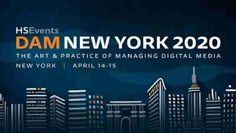 Digital Marketing Events - DAM New York 2020   April 14 - 15   New York, NY