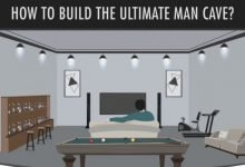 Man Cave Ideas Infographic