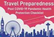 Travel Preparedness Post Covid-19 Pandemic Health Protection Checklist
