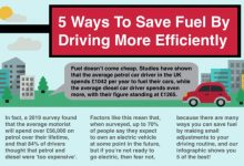 Save Fuel By Driving More Efficiently