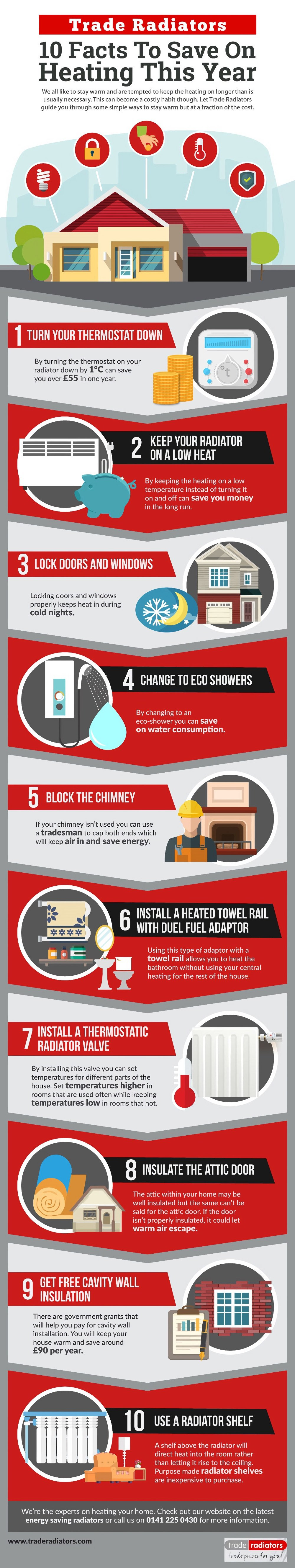 10 Facts to Save On Your Heating Costs This Year