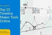 Top 15 Timeline Maker Tools Online (Hero image)
