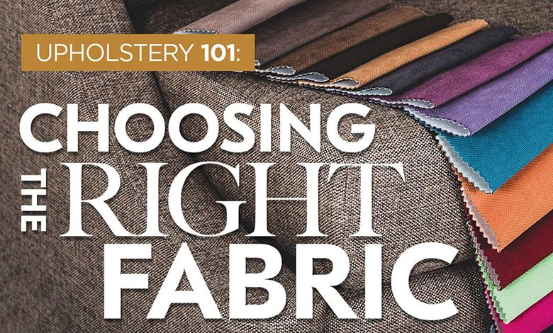 Upholstery 101 Infographic