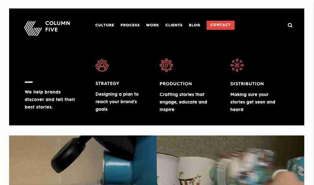 Column Five Media website