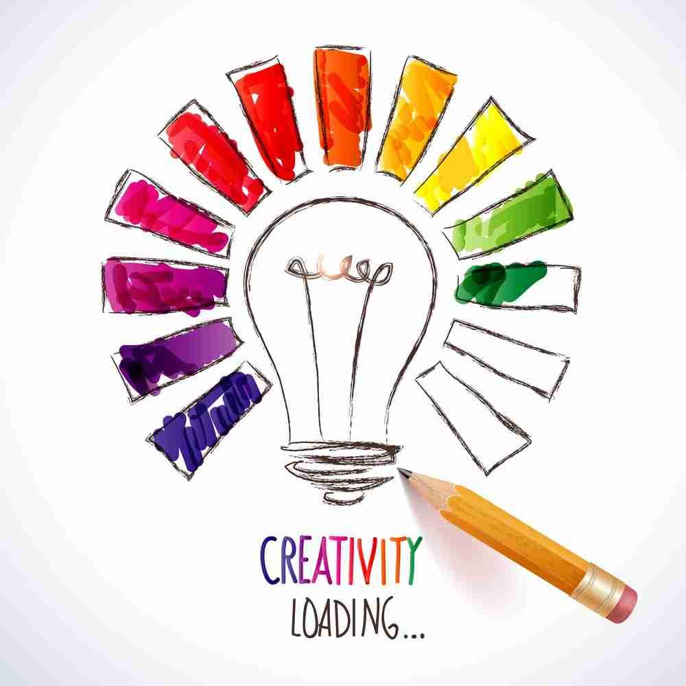 Creativity loading...
