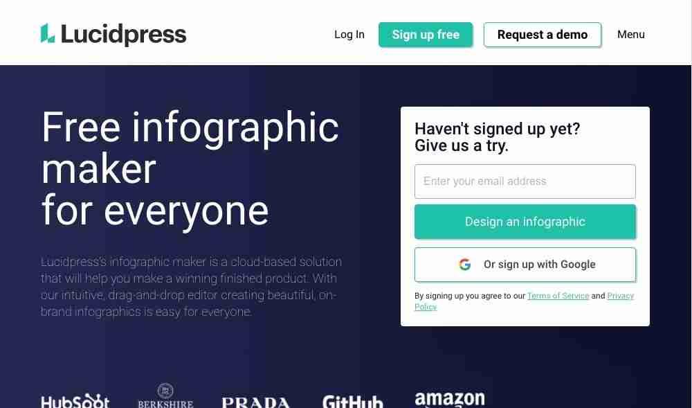 Lucidpress Free Infographic Maker