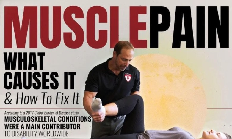 Relieve Muscle Pain With Muscle Activation Techniques™ Infographic