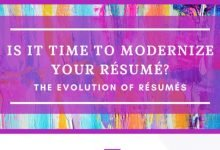 Evolution of Resume Styles