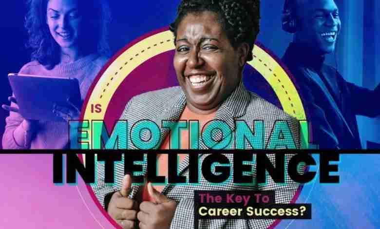 Emotional skills bring success infographic